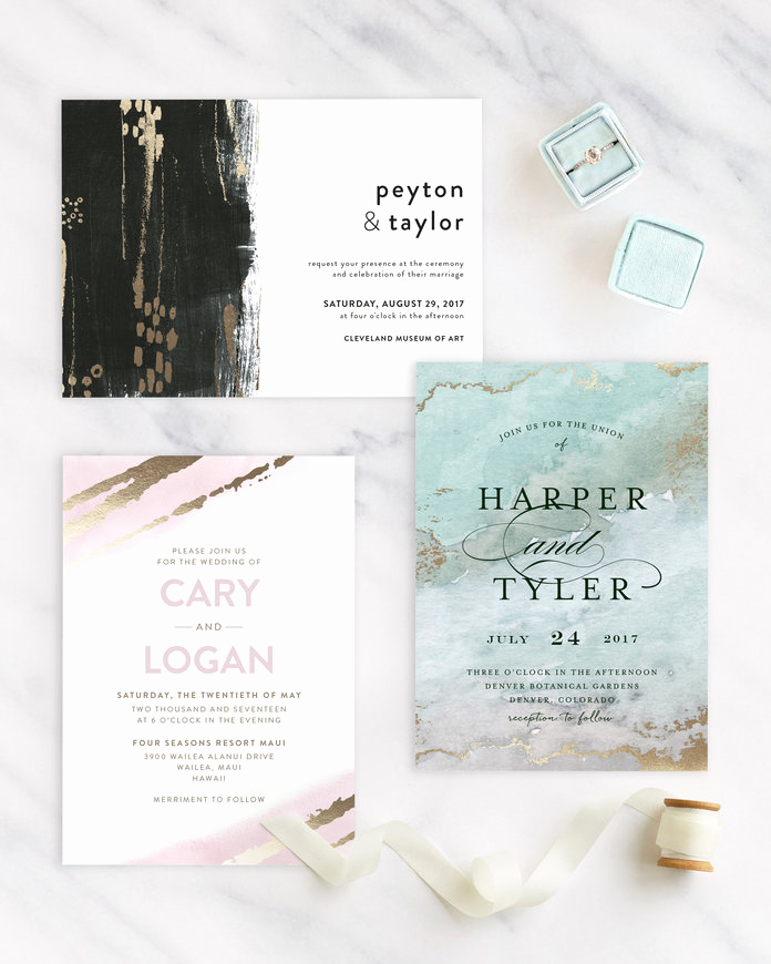 Wedding Invitation Trends 2017 Fresh Wedding Invitation Trends 2017 — New Wedding Stationery