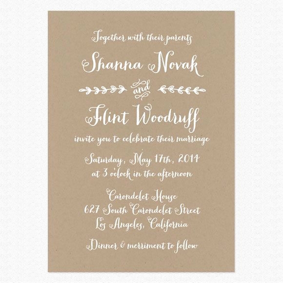 Wedding Invitation Wording Casual Best Of Best 25 Casual Wedding Invitation Wording Ideas On