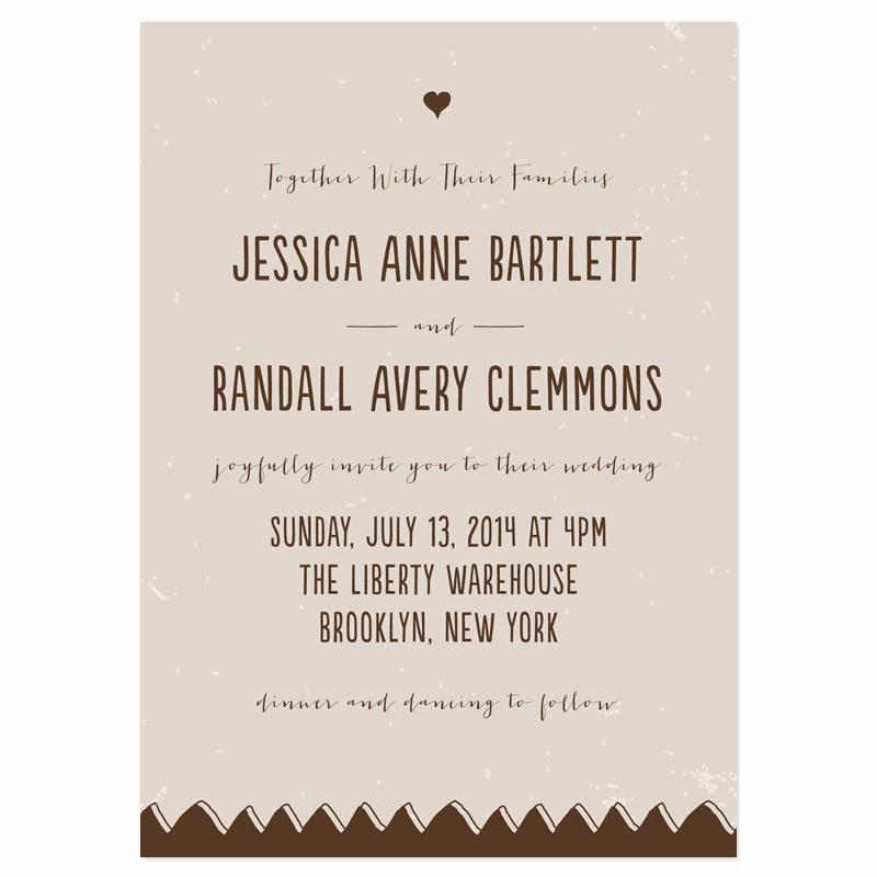 Wedding Invitation Wording Casual Inspirational Casual Wedding Invitations