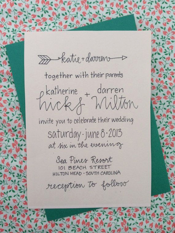 Wedding Invitation Wording Casual Lovely Best 25 Casual Wedding Invitations Ideas On Pinterest