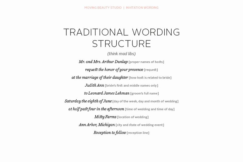 Wedding Invitation Wording Couple Hosting Awesome Wedding Invitation Wording Parents Hosting Cobypic