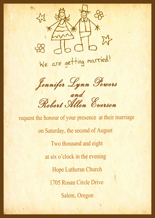 Wedding Invitation Wording Funny New 25 Funny Wedding Invitations that Simply Can T Be
