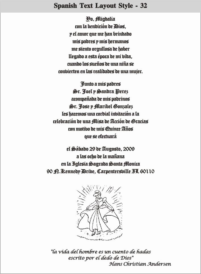 Wedding Invitation Wording In Spanish Lovely Wedding Invitation Spanish Wording
