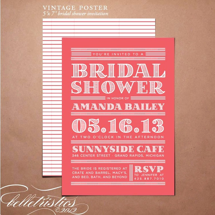 Wedding Open House Invitation Awesome 17 Best Images About Bridal Shower Open House On Pinterest