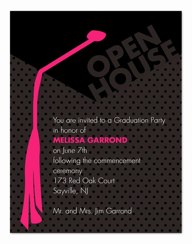 Wedding Open House Invitation Beautiful Grad Open House Graduation Announcements by Invitation