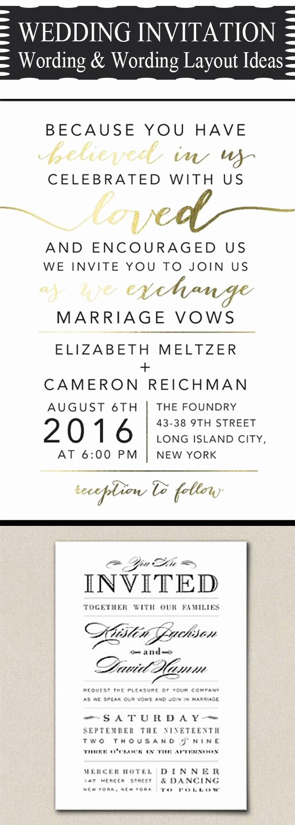 Wedding Reception Invitation Ideas Awesome 20 Popular Wedding Invitation Wording & Diy Templates
