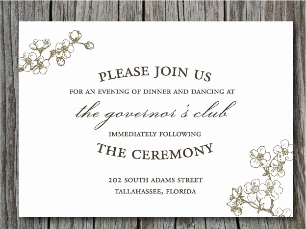 Wedding Reception Invitation Ideas Beautiful Pin by Jacqueline Mckenna On General Wedding Ideas