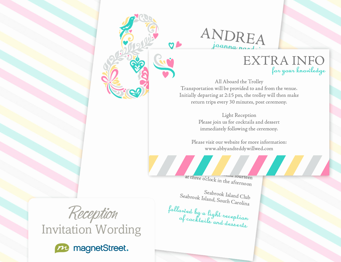 Wedding Reception Invitation Ideas Luxury Reception Invitation Wordingreception Invitation Wording