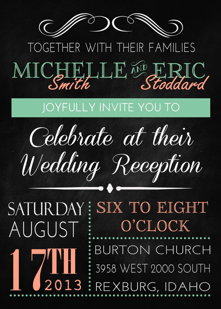 Wedding Reception Invitation Ideas New Best 25 Wedding Invitation Wording Ideas On Pinterest
