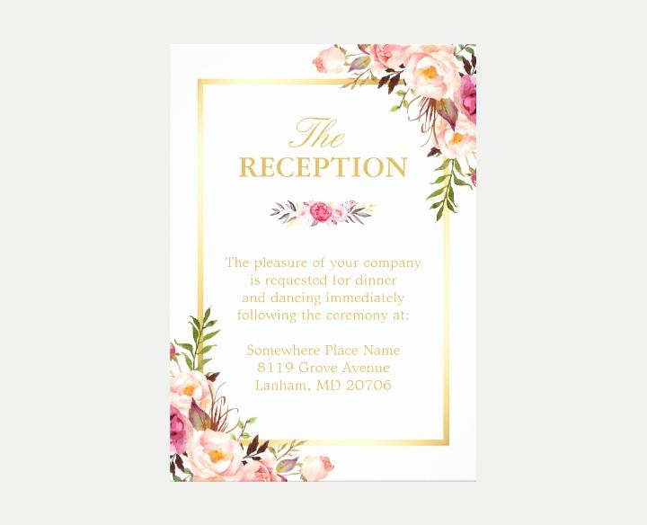 Wedding Reception Invitation Templates Elegant 15 New Wedding Reception Invitation Templates Psd Ai