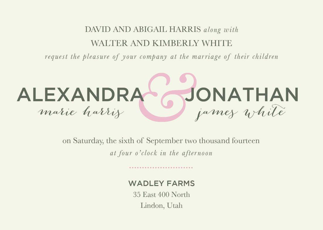 Wedding Reception Invitation Templates Lovely Dinner Reception Invitation Wording