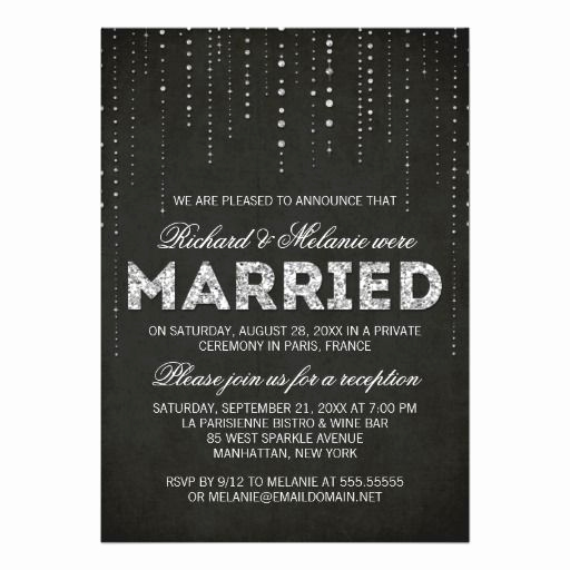 Wedding Reception Invitation Wording Awesome 25 Best Ideas About Reception Only Invitations On