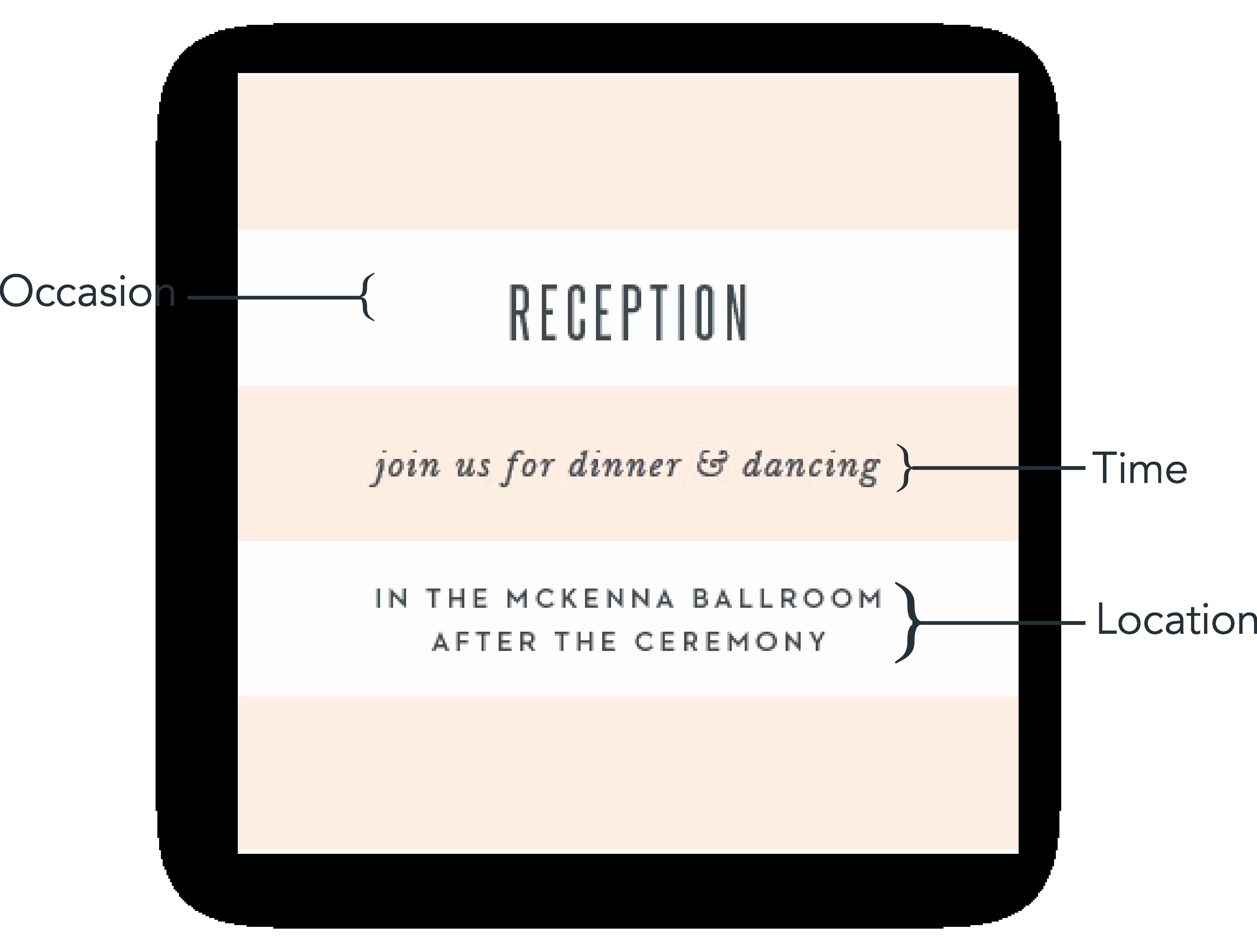 Wedding Reception Invitation Wording Elegant Reception Card Wording