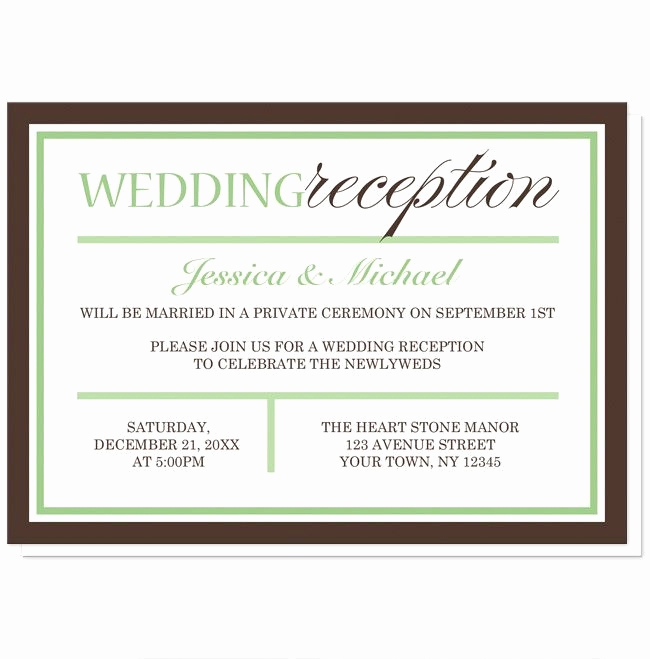 Wedding Reception Invitation Wording Samples Awesome Wedding and Reception Invitation Wording Samples Cobypic