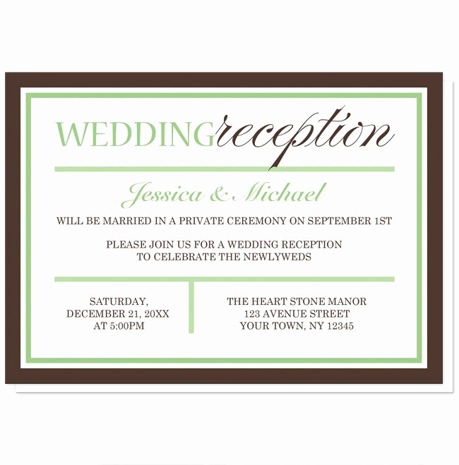 Wedding Reception Invitation Wording Samples Best Of Best 25 Reception Only Invitations Ideas On Pinterest