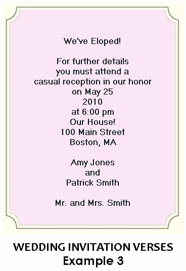 Wedding Reception Invitation Wording Samples New Kol Kol Kol Blog Funny Wedding Invitation Wording