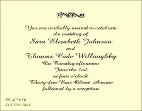 Wedding Reception Invitation Wording Samples New Reception Invitations Templates