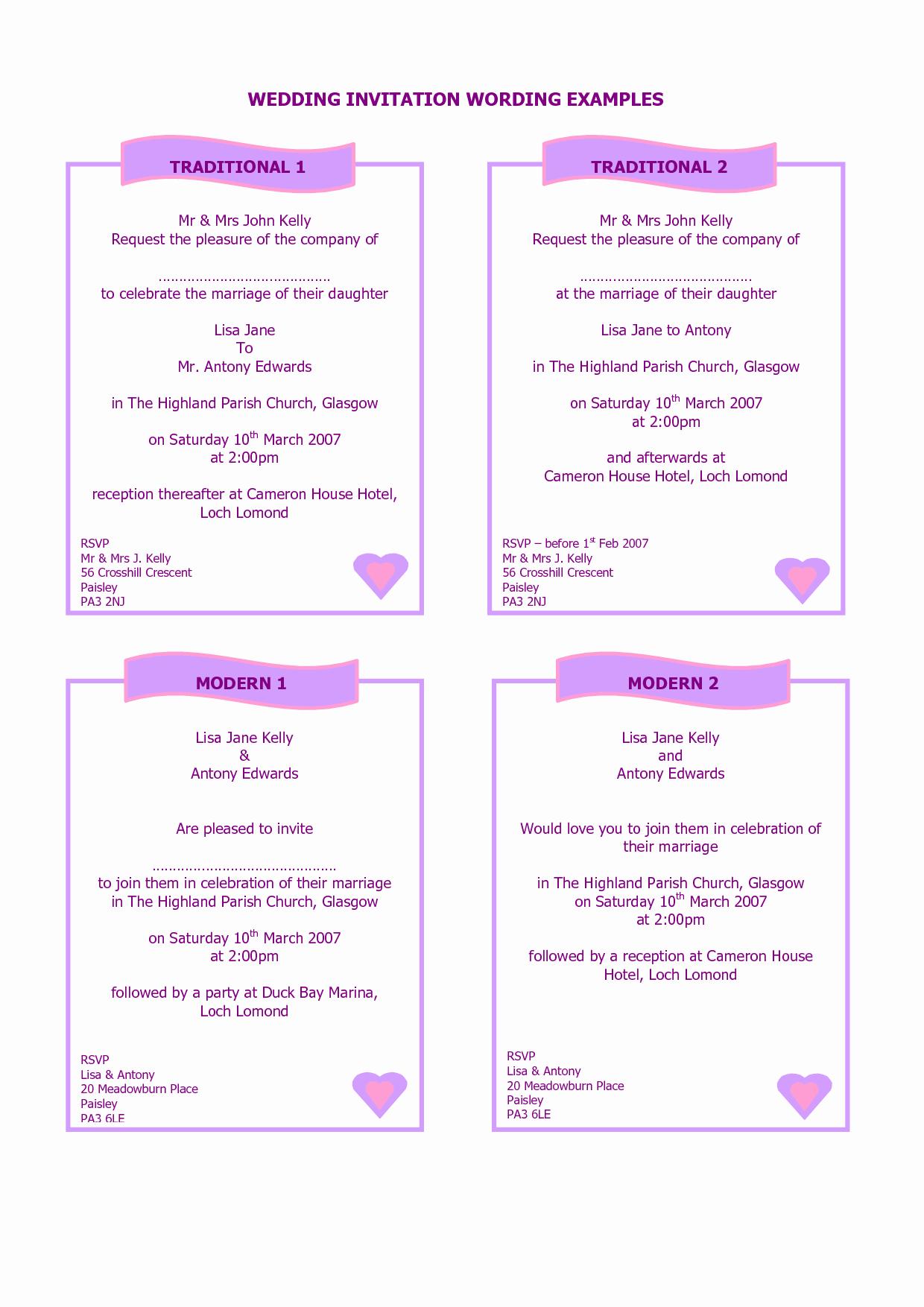 Wedding Reception Invitation Wording Samples New Wedding Invitation Creative Wedding Invitation Wording