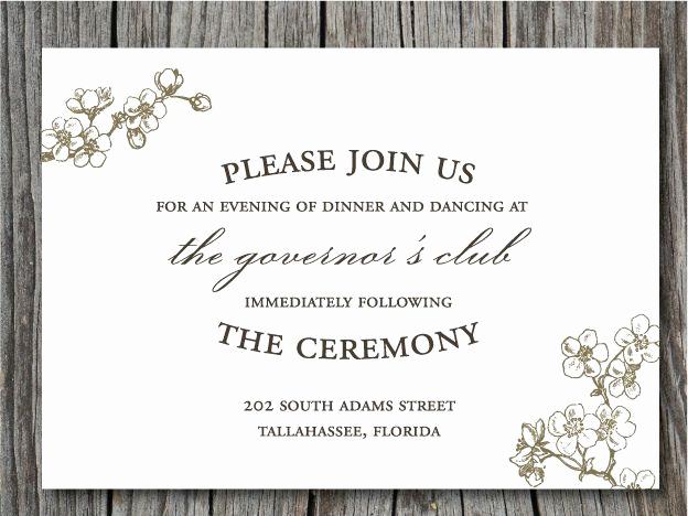 Wedding Reception Invitation Wording Unique Pin by Jacqueline Mckenna On General Wedding Ideas