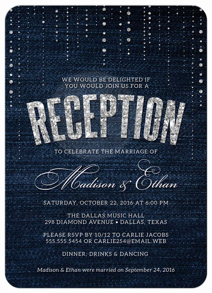 Wedding Reception Only Invitation Wording Beautiful Best 25 Reception Only Invitations Ideas On Pinterest