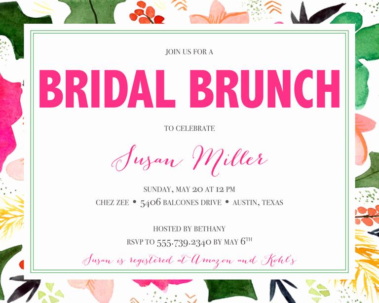 Wedding Shower Invitation Ideas Awesome Bridal Shower Invitation Wording Ideas and Etiquette