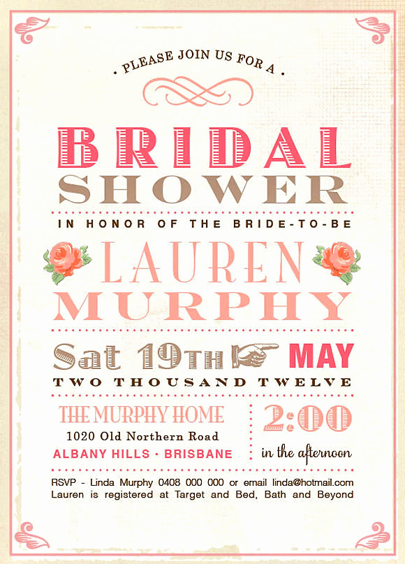 Wedding Shower Invitation Ideas Beautiful Wedding Planning Ideas with 25 Awesome Bridal Shower