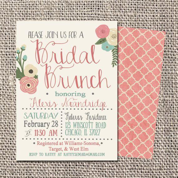 Wedding Shower Invitation Ideas Fresh Best 25 Bridal Shower Invitations Ideas On Pinterest
