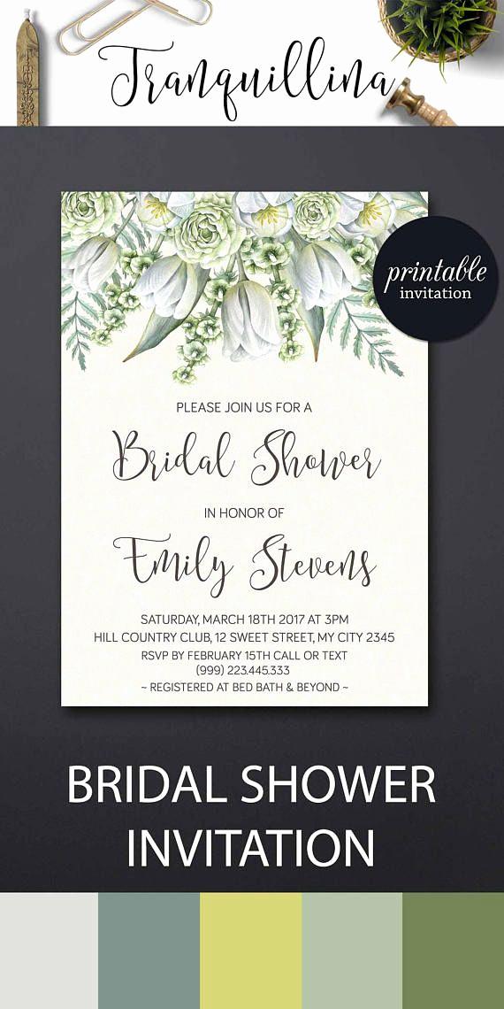 Wedding Shower Invitation Ideas Fresh Best 25 Spring Bridal Showers Ideas On Pinterest