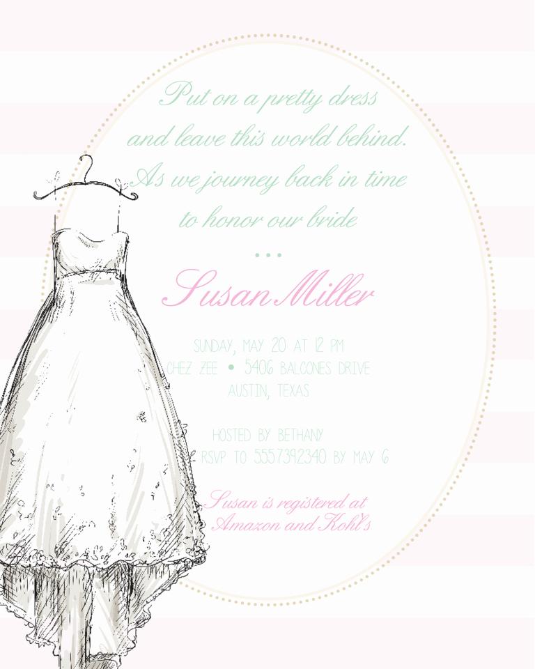 Wedding Shower Invitation Ideas Inspirational Bridal Shower Invitation Wording Ideas and Etiquette