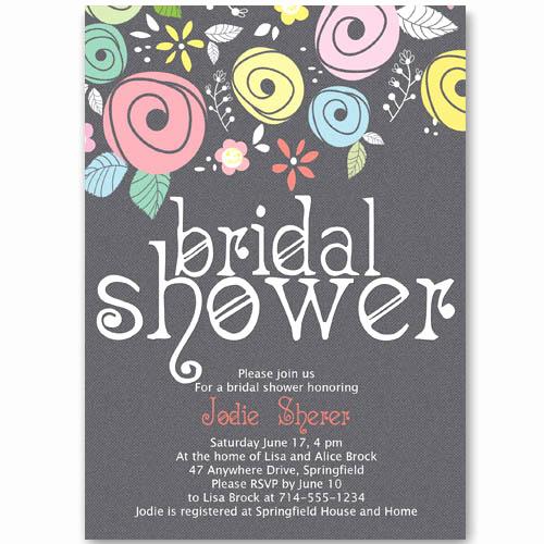 Wedding Shower Invitation Ideas New Bridal Shower Invitations at Elegant Wedding Invites