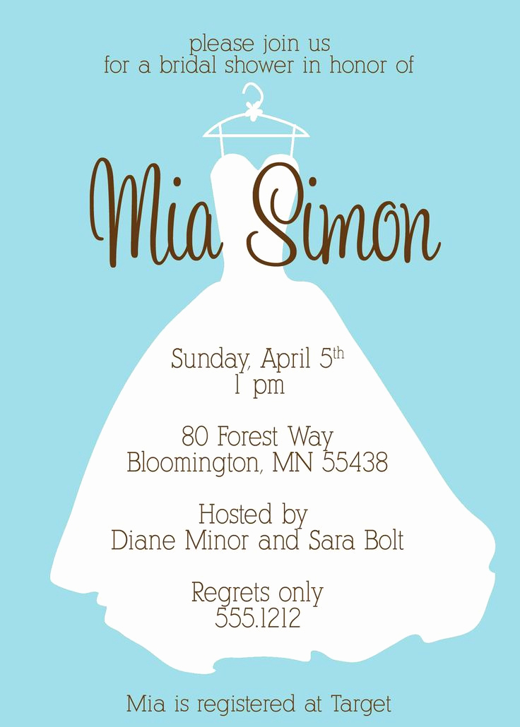 Wedding Shower Invitation Template Lovely 25 Best Ideas About Bridal Shower Invitations On