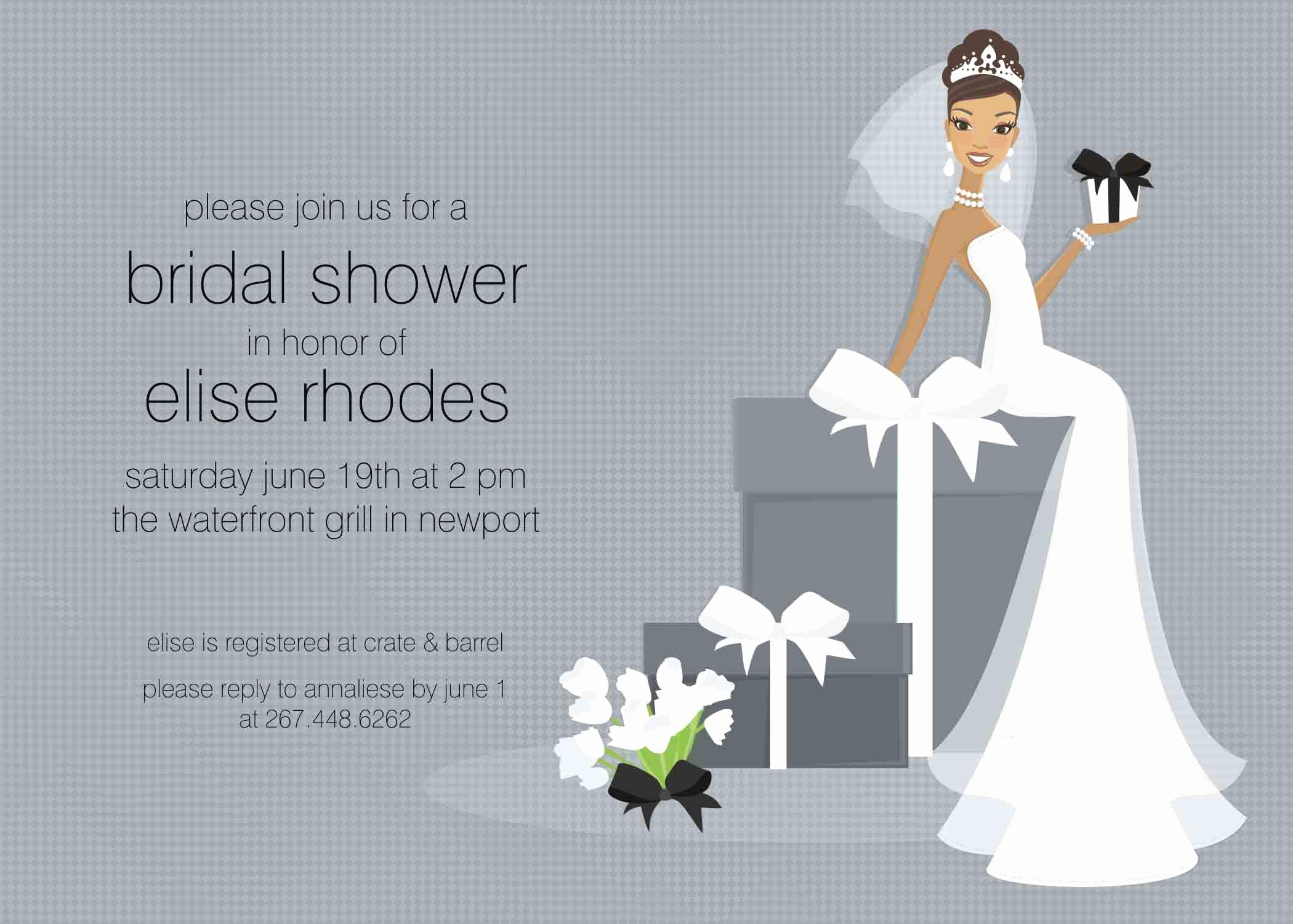 Wedding Shower Invitation Template Lovely Bridal Shower Invite Template Chanel Bridal Shower