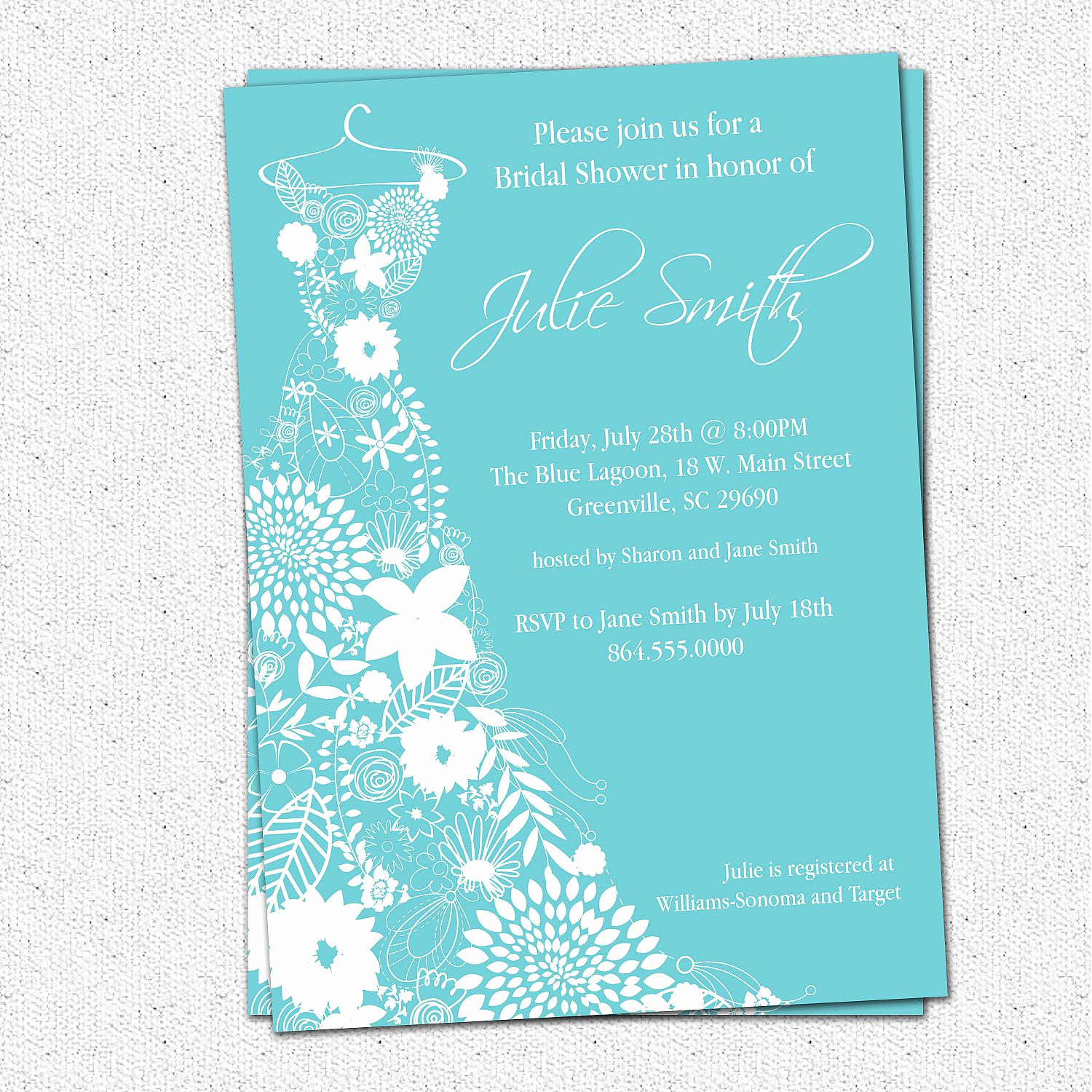 Wedding Shower Invitation Templates Inspirational Bridal Shower Invitation Bridal Shower Invitations