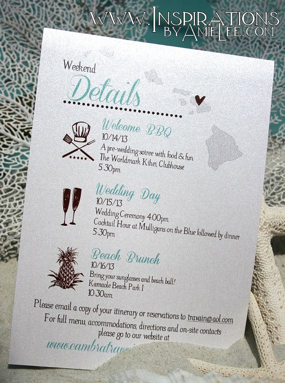 Wedding Weekend Invitation Wording Inspirational 1000 Ideas About Wedding Weekend Itinerary On Pinterest