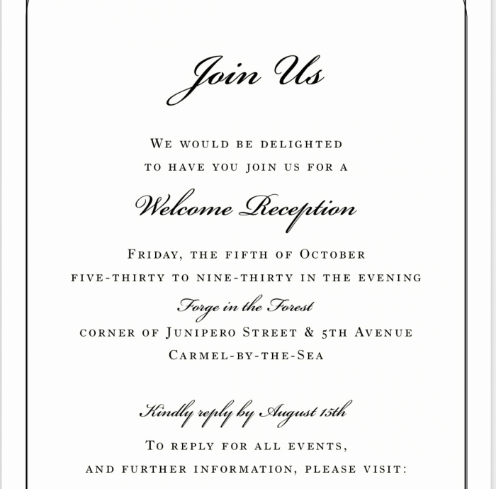 Wedding Welcome Party Invitation Beautiful Wording for A Wel E Party Invite