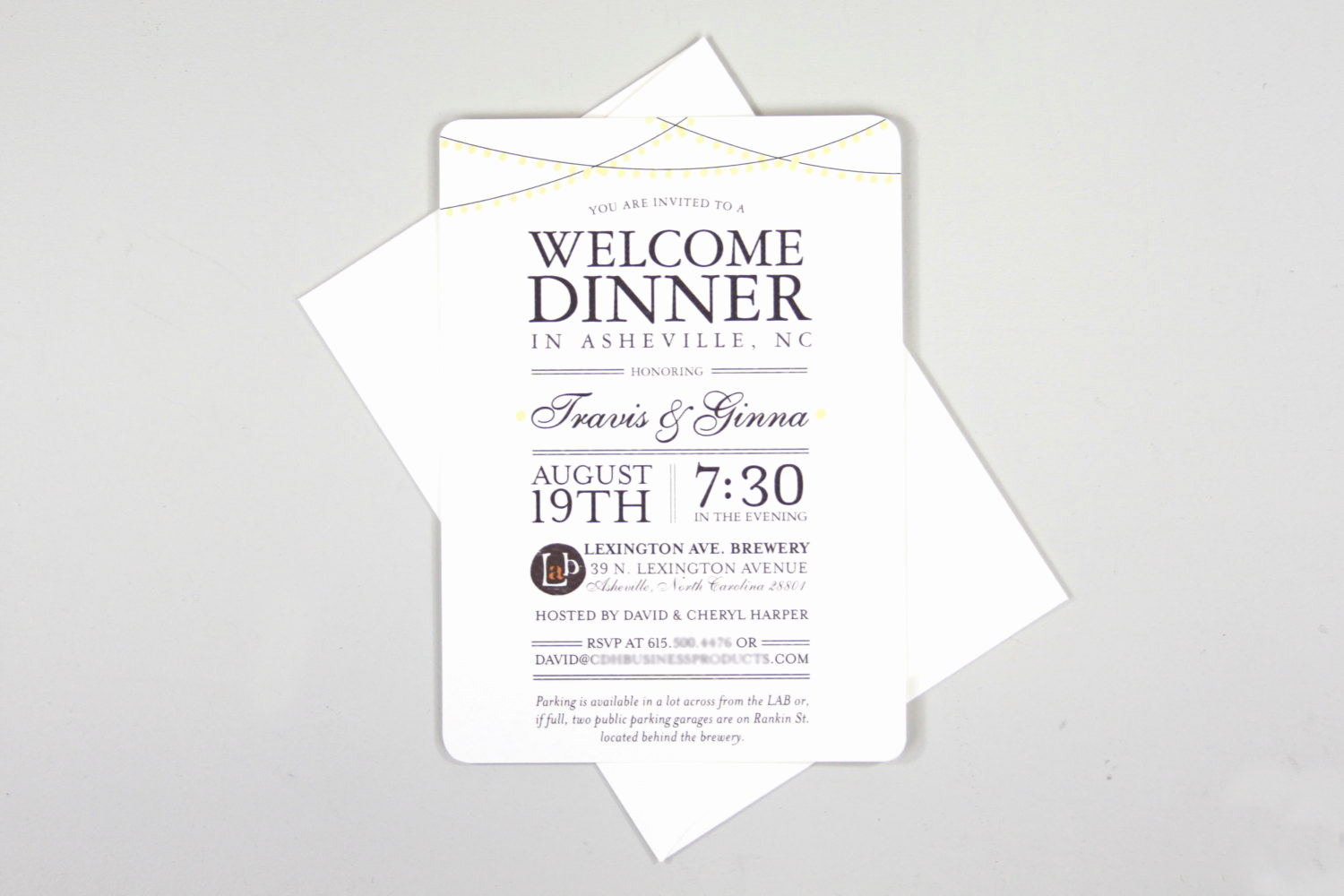 Wedding Welcome Party Invitation Best Of Classic String Lights 5×7 Wel E Wedding Rehearsal Invite
