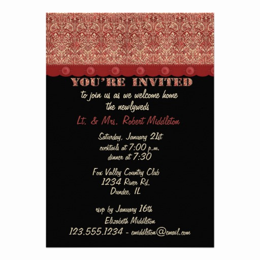 "Wedding Welcome Party Invitation Lovely Wel E Home Party Invitation 5"" X 7"" Invitation Card"