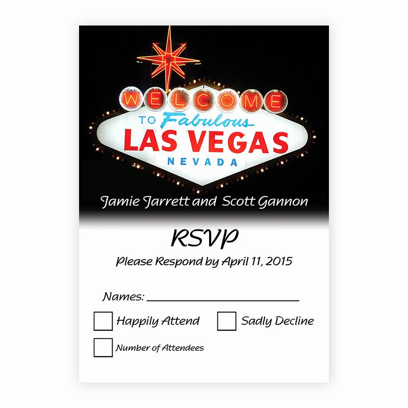 Wedding Welcome Party Invitation Unique Las Vegas Wedding Invitations Rsvp Wel E to Las