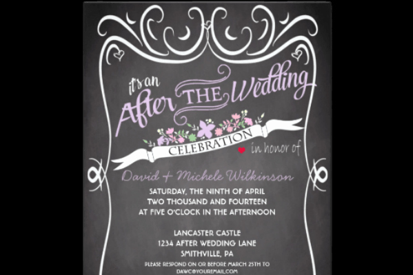 Wedding Welcome Party Invitation Wording Awesome at Home Reception Invitation Etiquette
