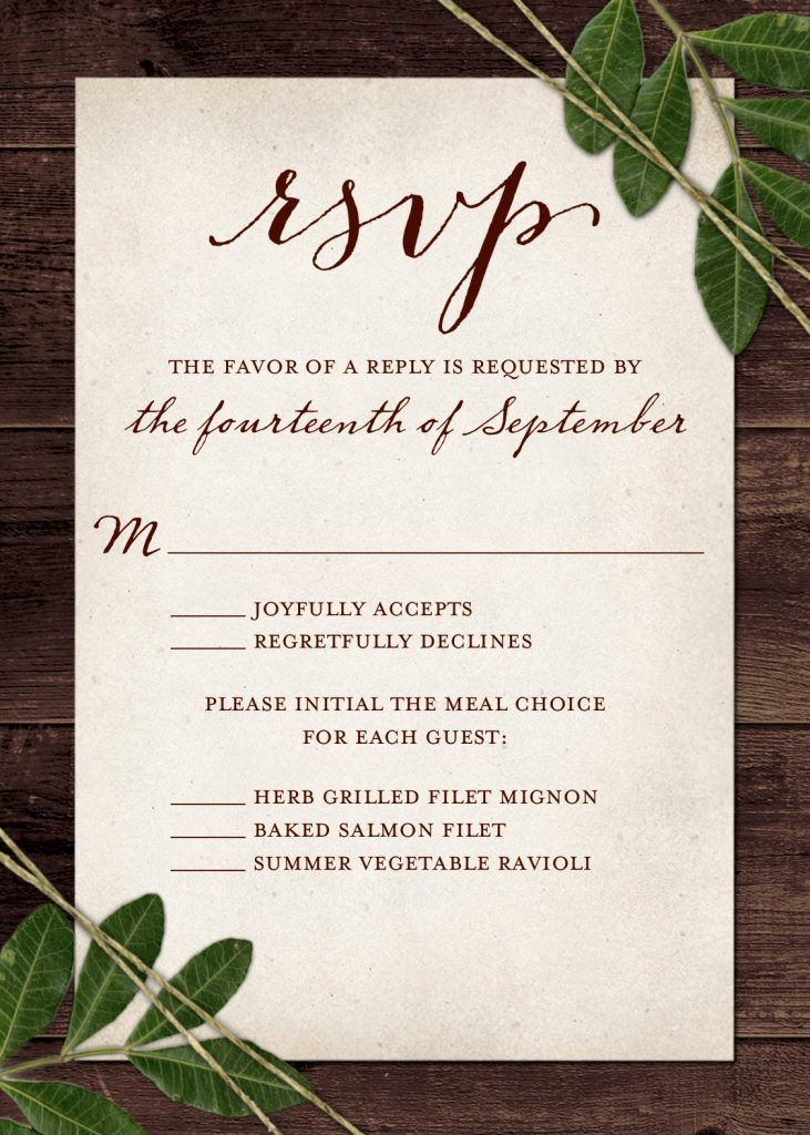 Wedding Welcome Party Invitation Wording Fresh Wedding Rsvp Wording and Card Etiquette 2019