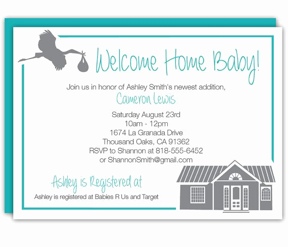 Welcome Party Invitation Wording Elegant 7 Best Wel E Home Baby Shower Images On Pinterest