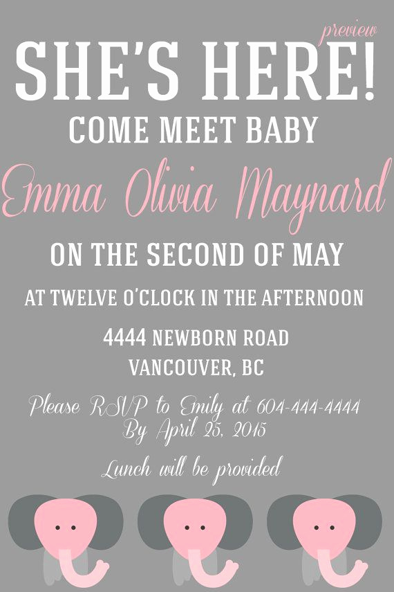 Welcome Party Invitation Wording Elegant A Baby Must Meet & Greet Invitation by Wifeyco On Etsy