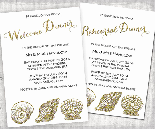 Welcome Party Invitation Wording Inspirational 10 Wedding Dinner Invitations Psd Eps Ai