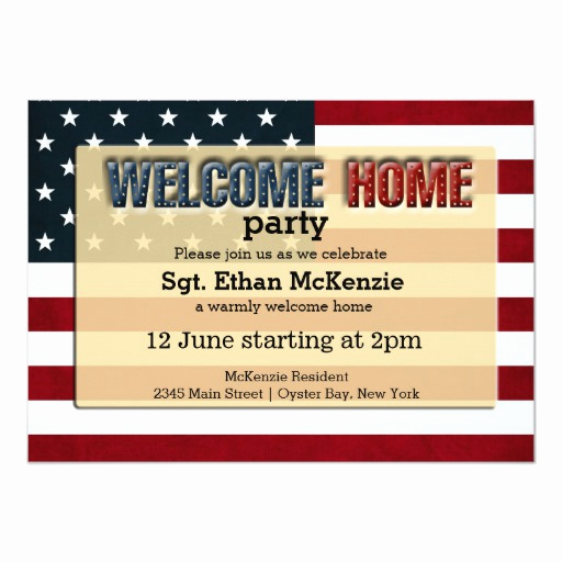 Welcome Party Invitation Wording Inspirational Wel E Home Party Card