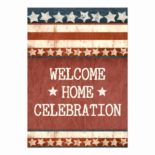 Welcome Party Invitation Wording Lovely Military Wel E Home Party Personalized Invitation