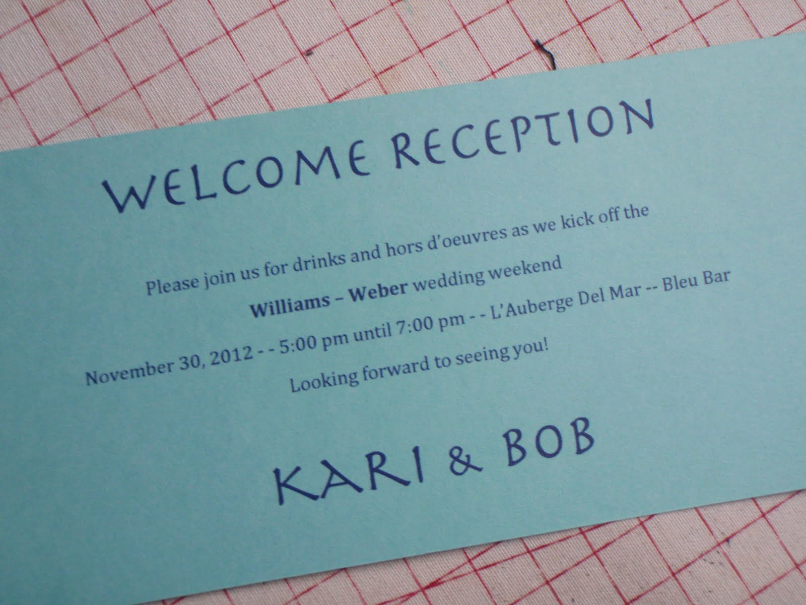 "Welcome Party Invitation Wording Unique Patty ""the Quilt Lady"" Wel Ing Reception Artmart at"