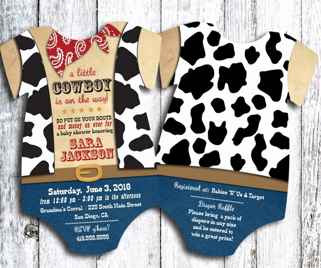 Western Baby Shower Invitation Best Of Western Baby Shower Ideas Baby Ideas