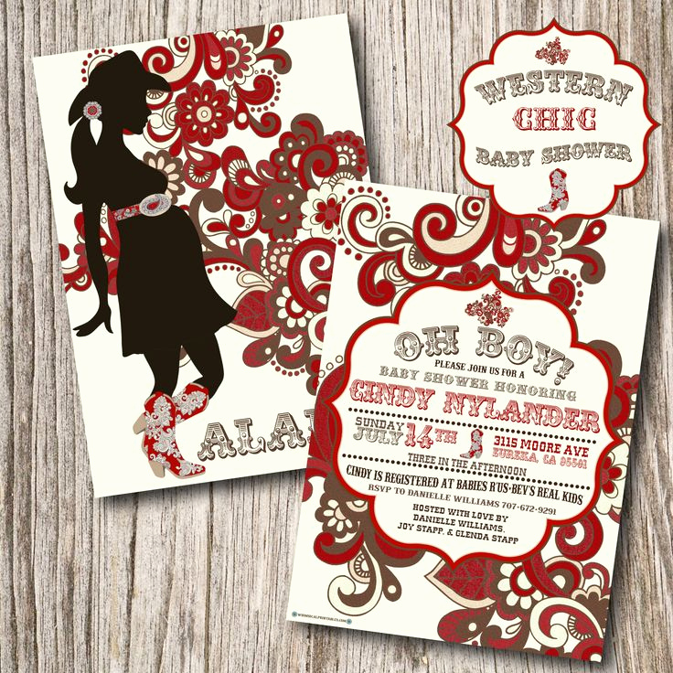 Western Baby Shower Invitation Template Best Of Natural Western Baby Shower theme Ideas and Cowboy themed