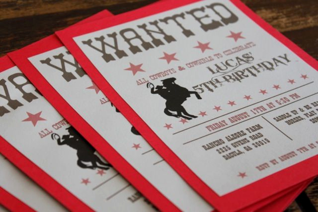 Western Party Invitation Templates Free Unique Free Printable Cowboy Birthday Invitation