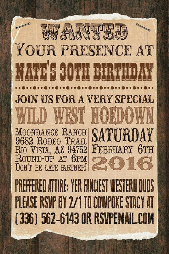 Western theme Invitation Templates Luxury Best 25 Western Invitations Ideas On Pinterest